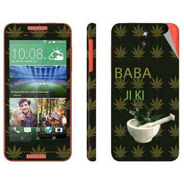 Snooky 28098 Digital Print Mobile Skin Sticker For HTC Desire 610 - Green