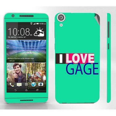 Snooky 28106 Digital Print Mobile Skin Sticker For HTC Desire 820 - Green
