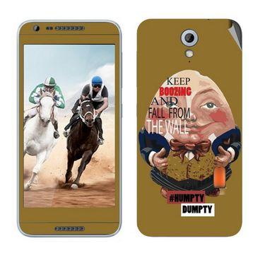 Snooky 28222 Digital Print Mobile Skin Sticker For HTC Desire 820 mini - Multi