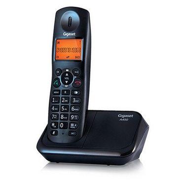 Gigaset A450 cordless phone - Black
