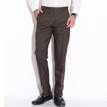 Fizzaro Formal Trouser_Pltrs104 - Dark Brown