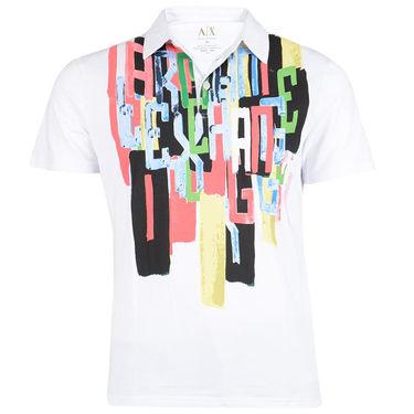Branded Cotton Tshirt_1182 - White