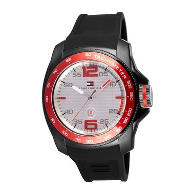 Tommy Hilfiger Round Dial Analog Watch_th1790854 - Red