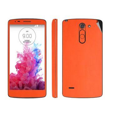 Snooky 38773 Mobile Skin Sticker For Lg G3 Stylus - Orange