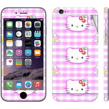 Snooky 39068 Digital Print Mobile Skin Sticker For Apple Iphone 6 - Pink