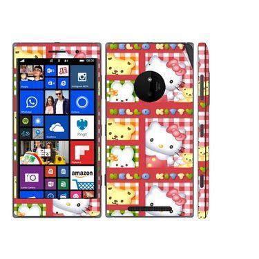 Snooky 39318 Digital Print Mobile Skin Sticker For Nokia Lumia 830 - Pink