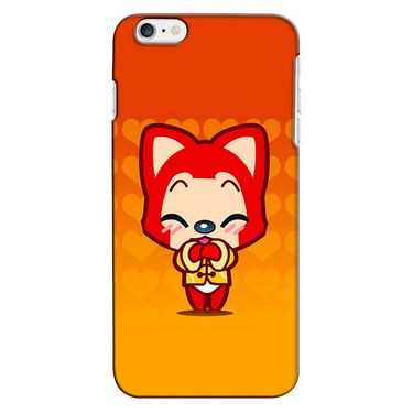 Snooky 35280 Digital Print Hard Back Case Cover For Apple iPhone 6 Plus - Orange
