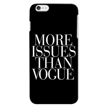 Snooky 36160 Digital Print Hard Back Case Cover For Apple iphone 6 Plus - Black