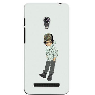 Snooky 36100 Digital Print Hard Back Case Cover For Asus Zenphone 5 - Green