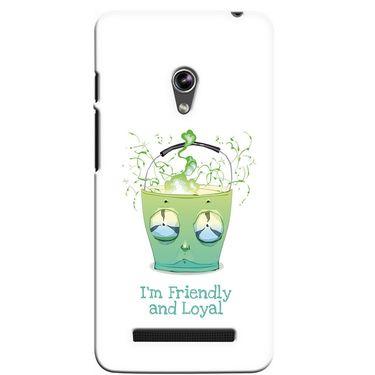 Snooky 36127 Digital Print Hard Back Case Cover For Asus Zenphone 5 - White