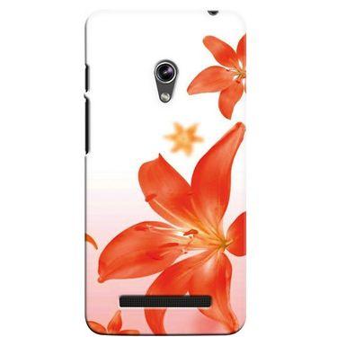 Snooky 36144 Digital Print Hard Back Case Cover For Asus Zenphone 5 - White