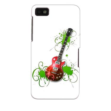 Snooky 35370 Digital Print Hard Back Case Cover For Blackberry Z10 - White