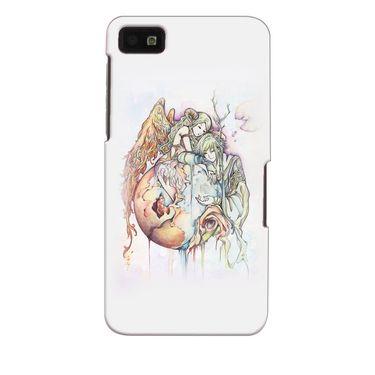 Snooky 35375 Digital Print Hard Back Case Cover For Blackberry Z10 - Multicolour