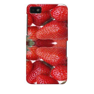 Snooky 35378 Digital Print Hard Back Case Cover For Blackberry Z10 - Red