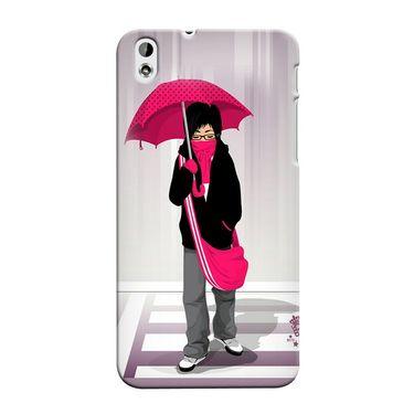Snooky 37274 Digital Print Hard Back Case Cover For HTC Desire 816 - Multicolour