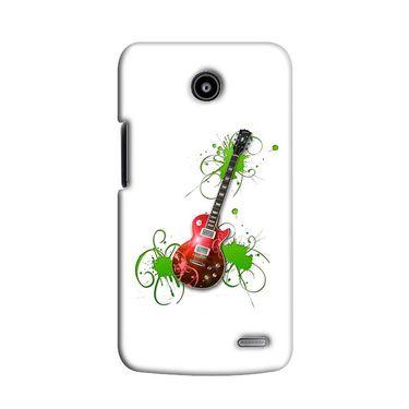Snooky 38551 Digital Print Hard Back Case Cover For Lenovo A820 - White
