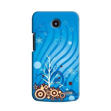 Snooky 38562 Digital Print Hard Back Case Cover For Lenovo A820 - Blue