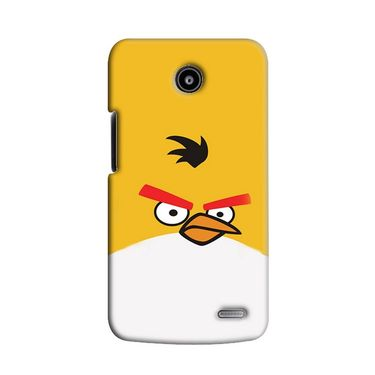Snooky 38563 Digital Print Hard Back Case Cover For Lenovo A820 - Yellow