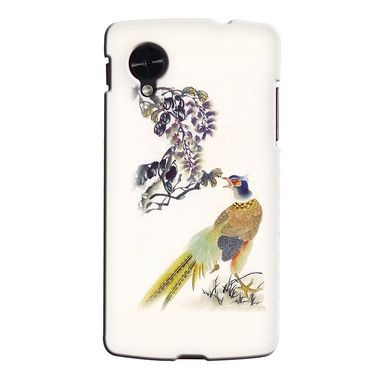 Snooky 35946 Digital Print Hard Back Case Cover For LG Google Nexus 5 - Cream
