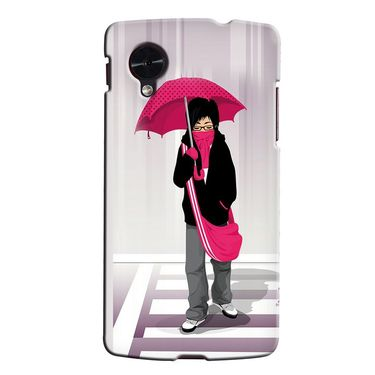 Snooky 35954 Digital Print Hard Back Case Cover For LG Google Nexus 5 - Multicolour