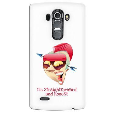 Snooky 37944 Digital Print Hard Back Case Cover For LG G4 - White