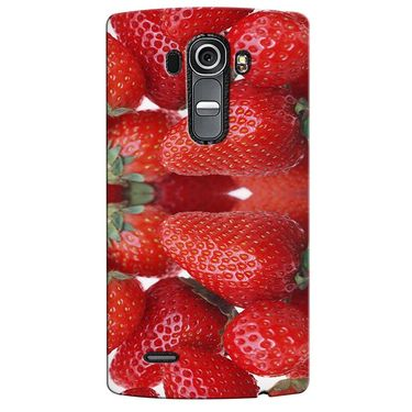 Snooky 37959 Digital Print Hard Back Case Cover For LG G4 - Red