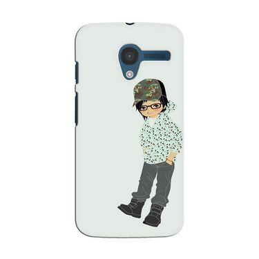 Snooky 35850 Digital Print Hard Back Case Cover For Motorola Moto X - Green