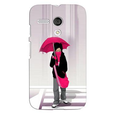 Snooky 38574 Digital Print Hard Back Case Cover For Motorola Moto G - Multicolour