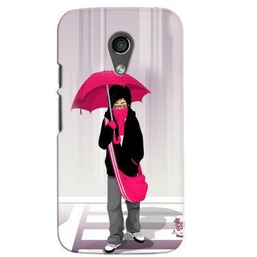 Snooky 38624 Digital Print Hard Back Case Cover For Motorola Moto G 2nd Gen - Multicolour