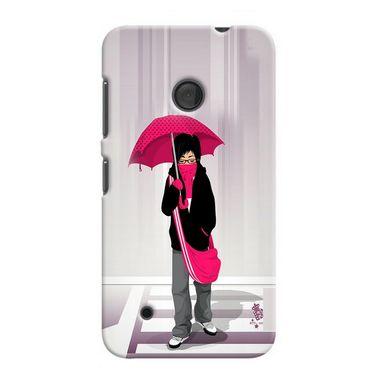 Snooky 37974 Digital Print Hard Back Case Cover For Nokia Lumia 530 - Multicolour