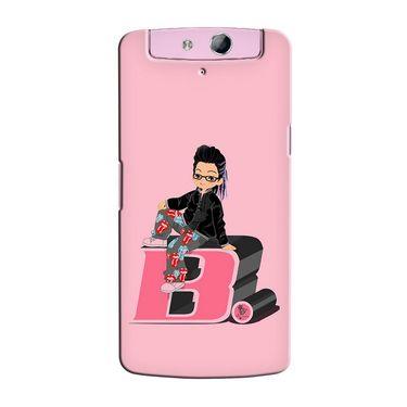 Snooky 36776 Digital Print Hard Back Case Cover For Oppo N1 Mini N5111 - Pink