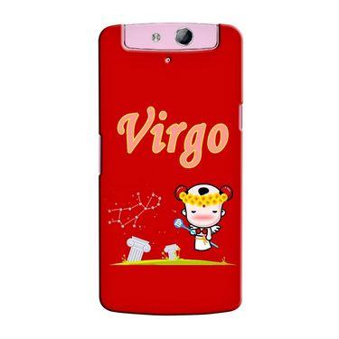 Snooky 36788 Digital Print Hard Back Case Cover For Oppo N1 Mini N5111 - Red