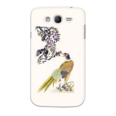 Snooky 35535 Digital Print Hard Back Case Cover For Samsung Galaxy Grand Duos I9082 - Cream