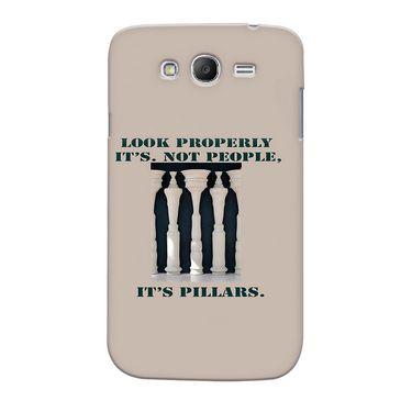 Snooky 35568 Digital Print Hard Back Case Cover For Samsung Galaxy Grand Duos I9082 - Cream