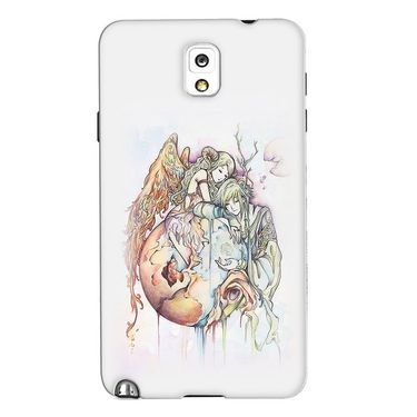 Snooky 35675 Digital Print Hard Back Case Cover For Samsung Galaxy Note 3 N900  - Multicolour