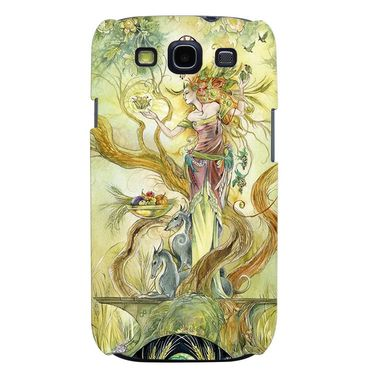 Snooky 35726 Digital Print Hard Back Case Cover For Samsung Galaxy S3 I9300 - Green