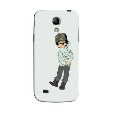 Snooky 35739 Digital Print Hard Back Case Cover For Samsung Galaxy S4 Mini I9192 - Green