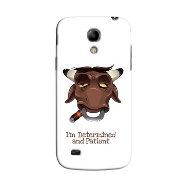Snooky 35764 Digital Print Hard Back Case Cover For Samsung Galaxy S4 Mini I9192 - White