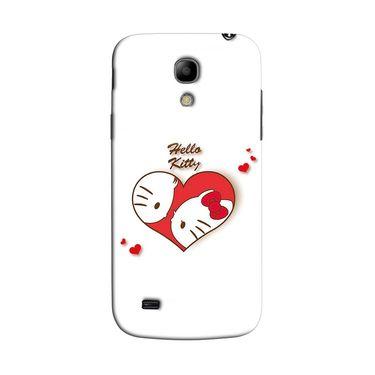 Snooky 35769 Digital Print Hard Back Case Cover For Samsung Galaxy S4 Mini I9192 - White