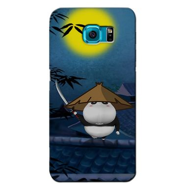 Snooky 36210 Digital Print Hard Back Case Cover For Samsung Galaxy S6 - Blue