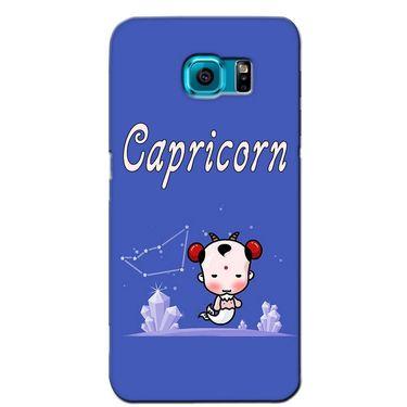Snooky 36233 Digital Print Hard Back Case Cover For Samsung Galaxy S6 Edge - Purple