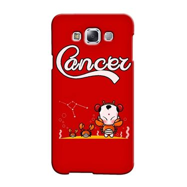 Snooky 36282 Digital Print Hard Back Case Cover For Samsung Galaxy A3 - Red