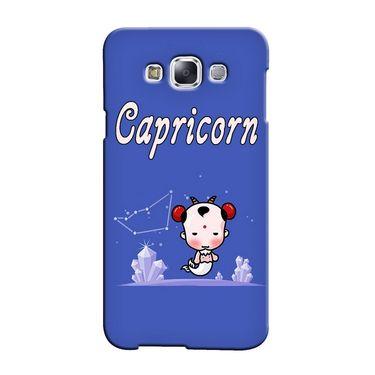 Snooky 36433 Digital Print Hard Back Case Cover For Samsung Galaxy E5 - Purple