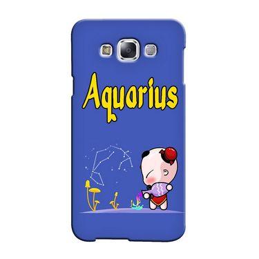 Snooky 36486 Digital Print Hard Back Case Cover For Samsung Galaxy E7 - Purple