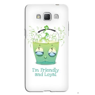 Snooky 36547 Digital Print Hard Back Case Cover For Samsung Galaxy Grand max - White