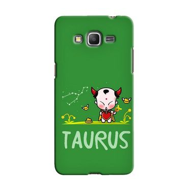 Snooky 36580 Digital Print Hard Back Case Cover For Samsung Galaxy Grand Prime - Green