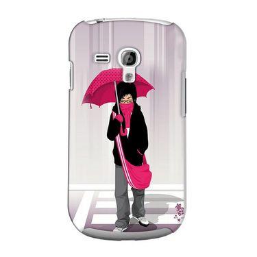 Snooky 36824 Digital Print Hard Back Case Cover For Samsung Galaxy S3 Mini - Multicolour