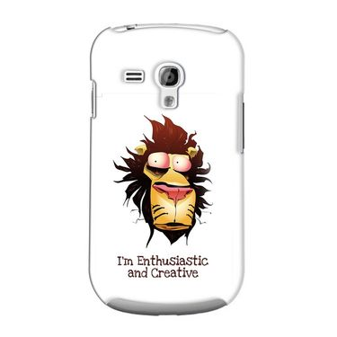 Snooky 36843 Digital Print Hard Back Case Cover For Samsung Galaxy S3 Mini - White
