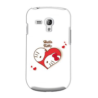 Snooky 36850 Digital Print Hard Back Case Cover For Samsung Galaxy S3 Mini - White