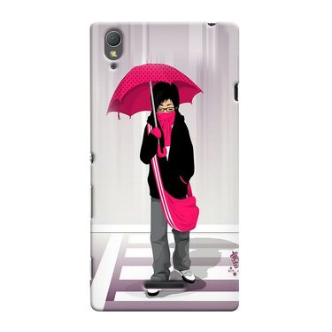 Snooky 36974 Digital Print Hard Back Case Cover For Sony Xperia T3 - Multicolour